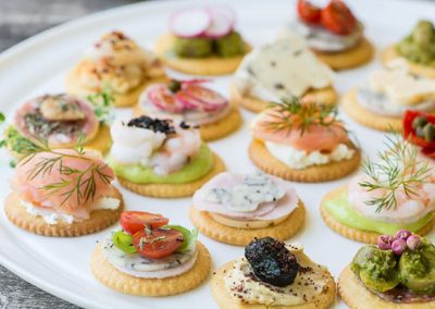 Cracker Canapes